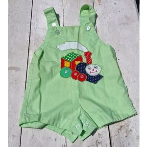 Other - Vintage Baby Thomas The Tank Engine Overalls